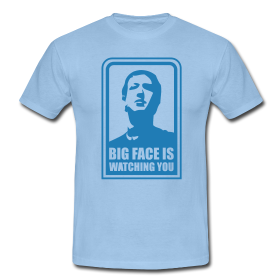 big face t shirt