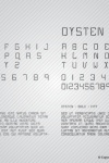 Dysten Font Design